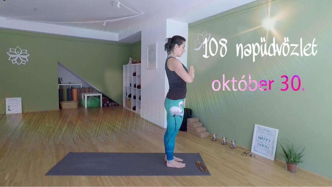108 napüdvözlet közös gyakorlás okt. 30 - Jóga Mindennap cover
