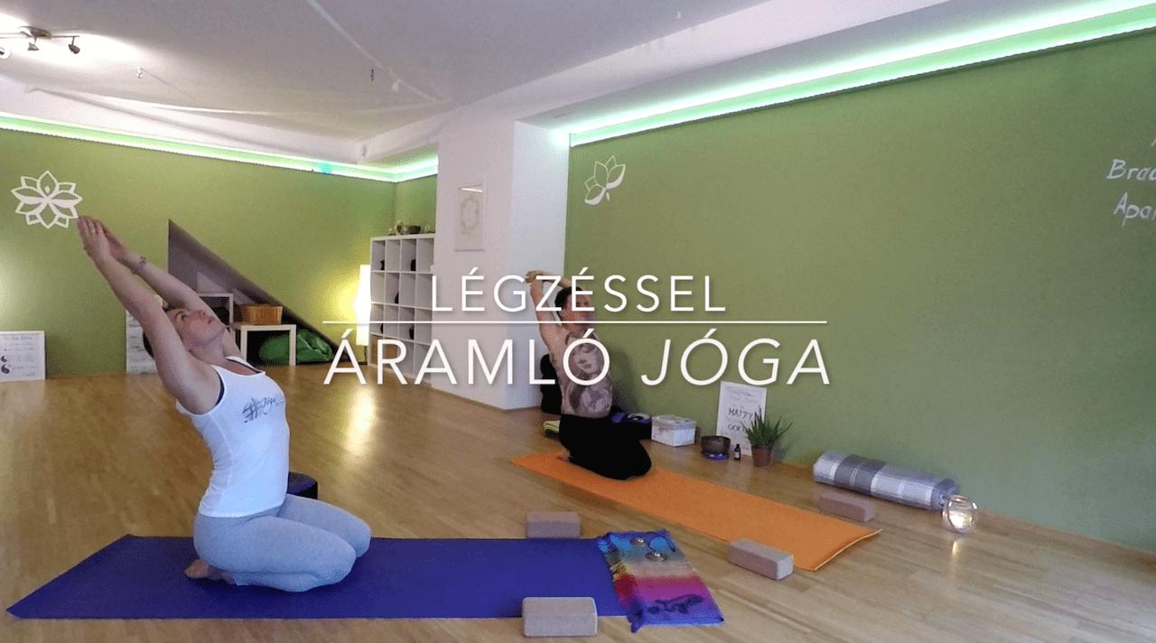 Légzéssel áramló jóga Attilával - Jóga Mindennap
