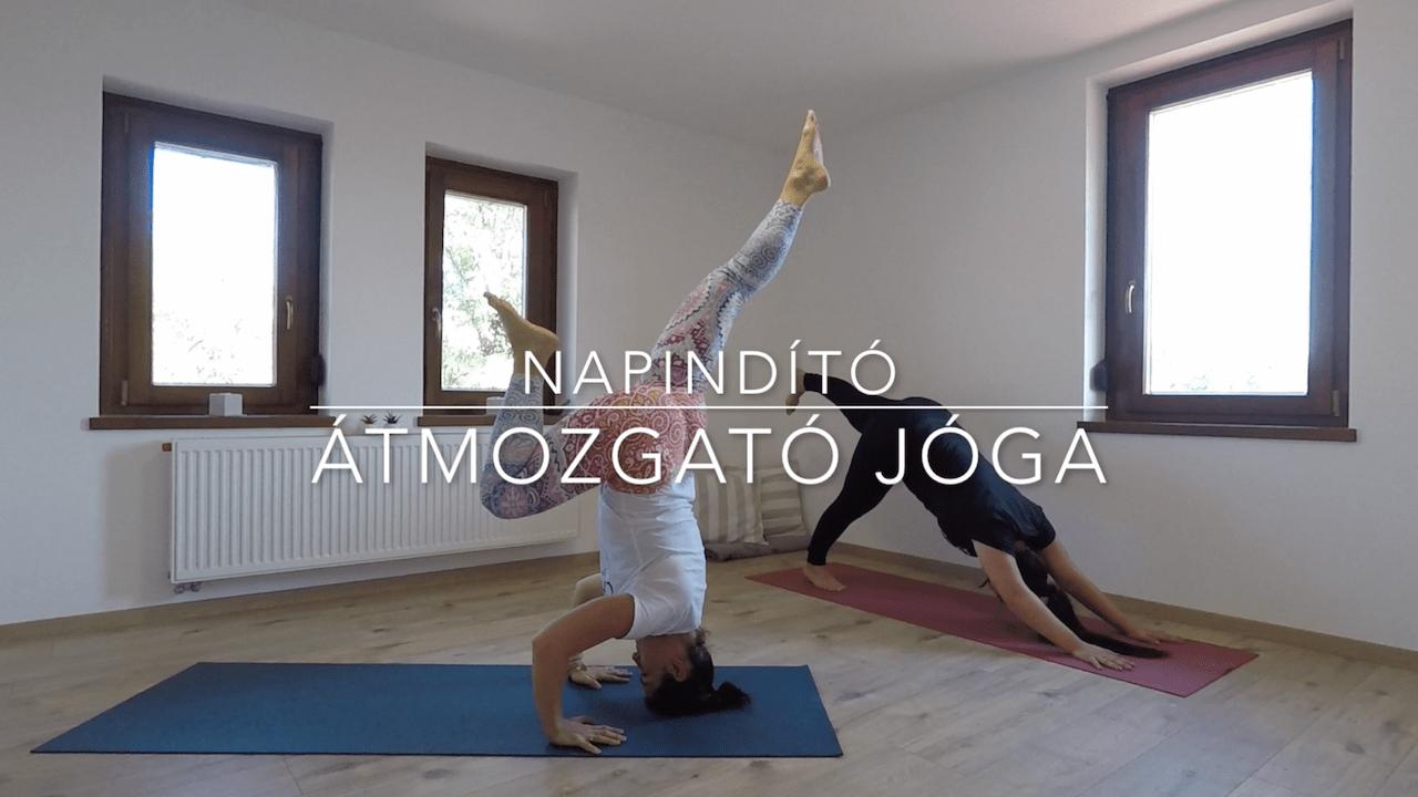 Napindító megerősítések, átmozgató jóga - FreshUp Yoga_Jóga Mindennap