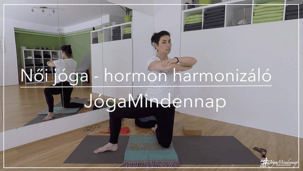 Női jóga | hormon | egyensúly | FreshUp Ágival - Jóga Mindennap