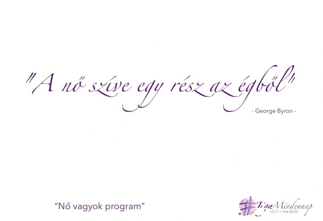 Nő vagyok program mantra idézet jóga mindennap