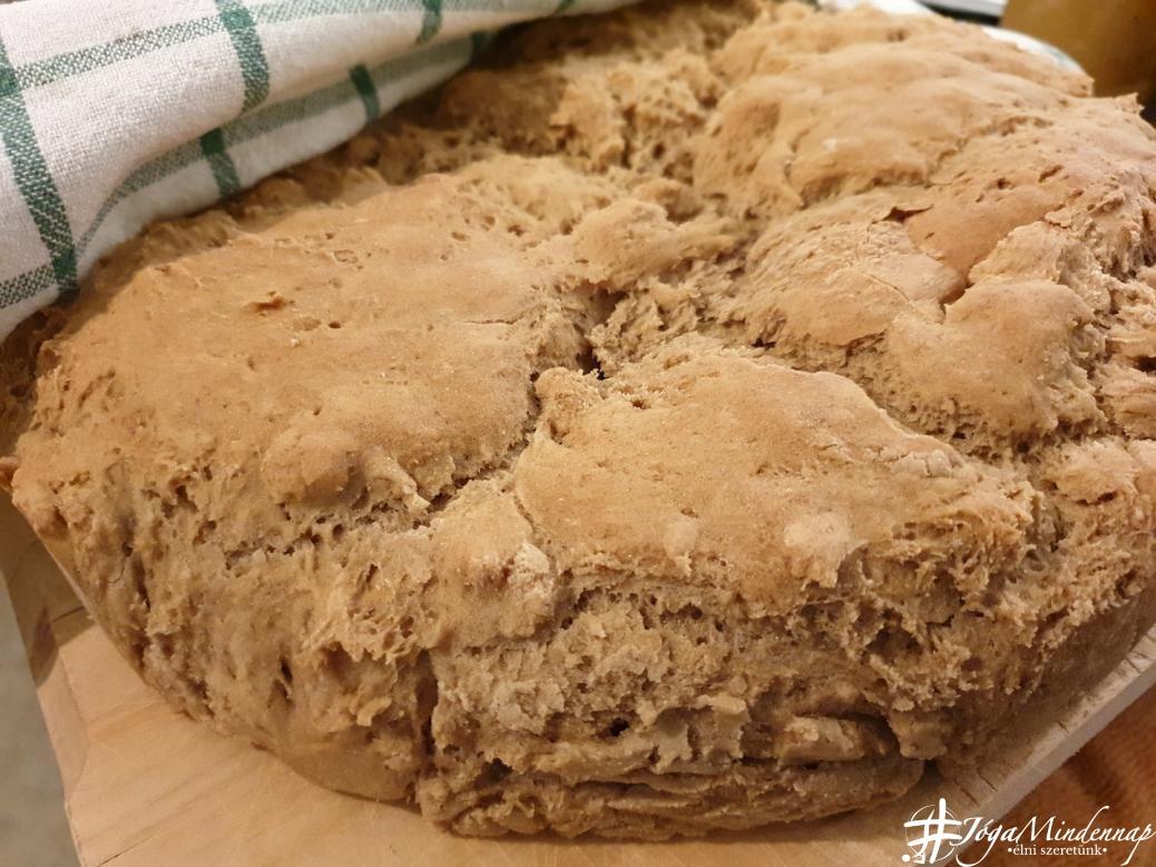 Rozs kenyer recept hazilag _ Jóga Mindennap _7