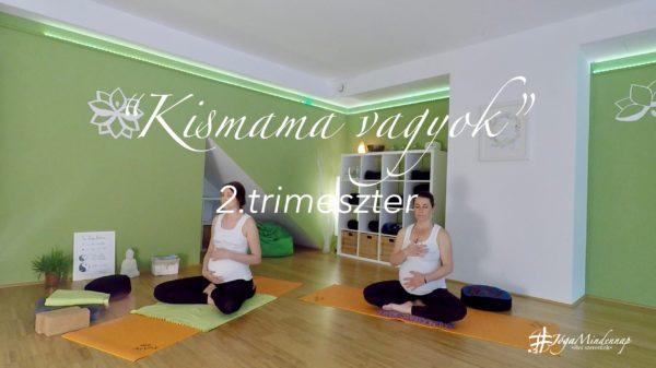 Kismama vagyok online jóga program FreshUp Ági Jóga Mindennap