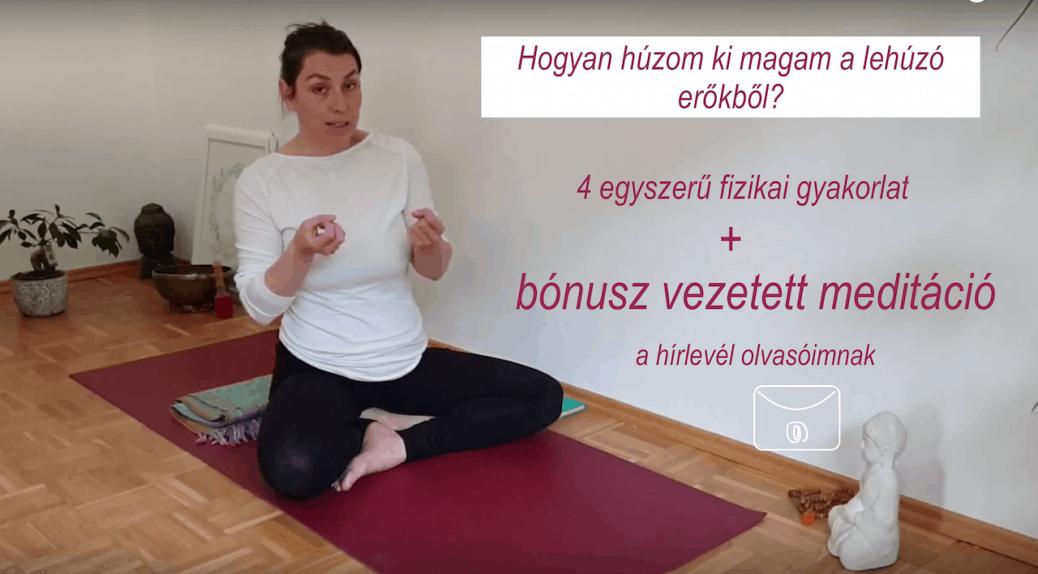 Hogyan küzdöm le a fáradtságot online jóga online vezetett meditáció FreshUp Ági Jóga Mindennap cover