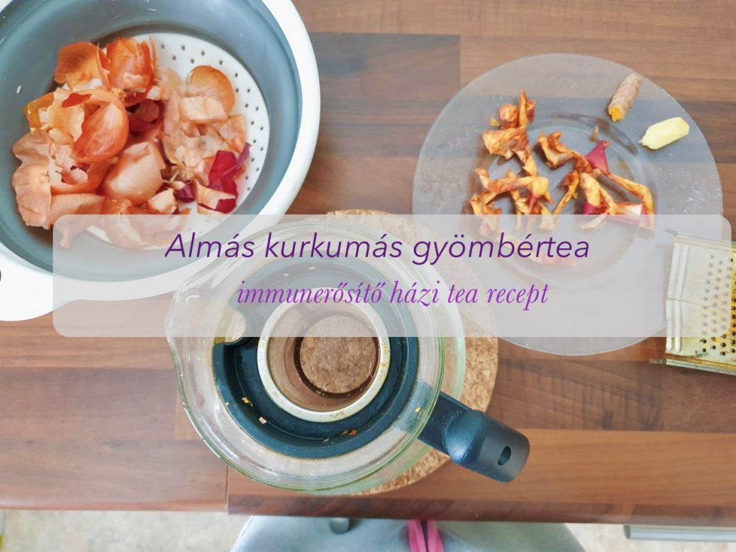 Almás kurkuma tea_02 immunerősítő