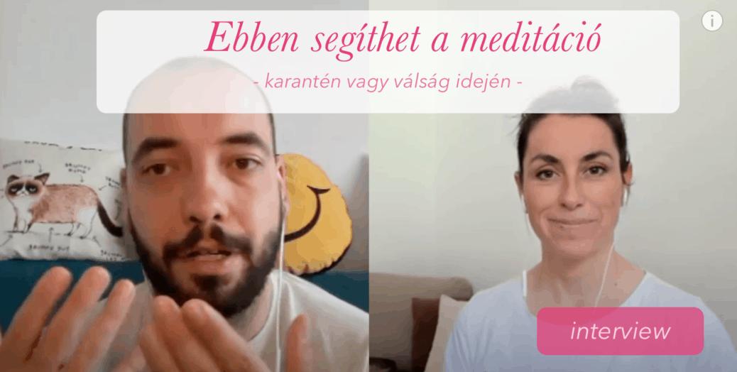 Ebben segíthet a meditáció interview frehup ági méreg attila jóga mindennap