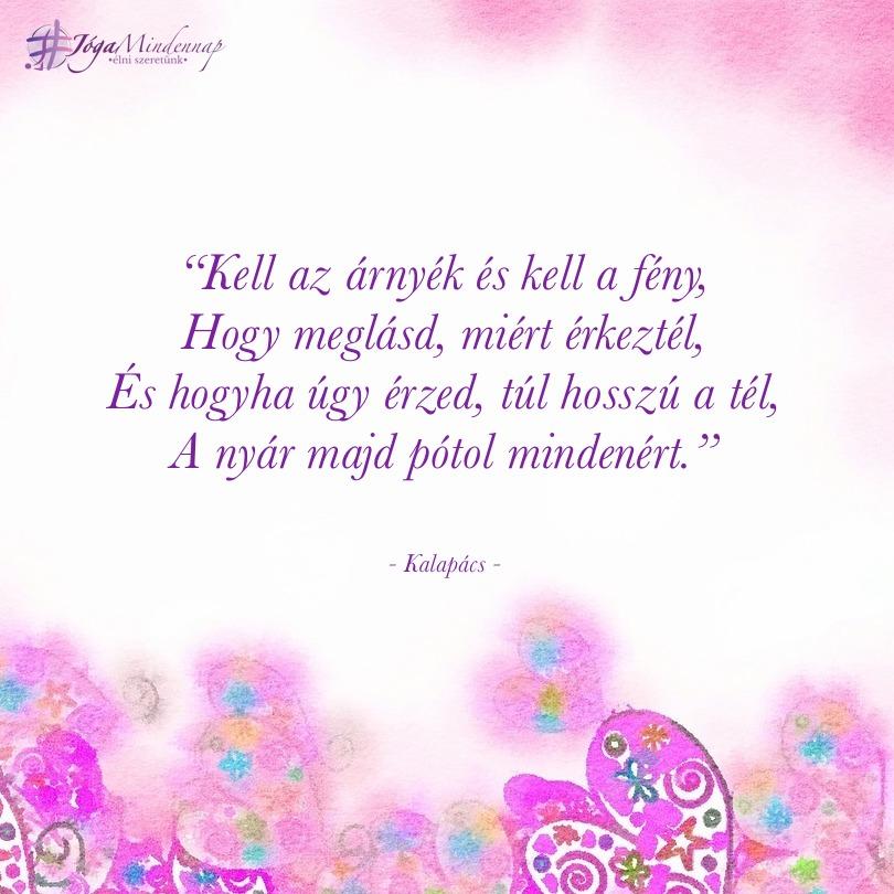"""""""Kell az árnyék és kell a fény - napindító idézet megerősítés meditáció Jóga mindennap"""