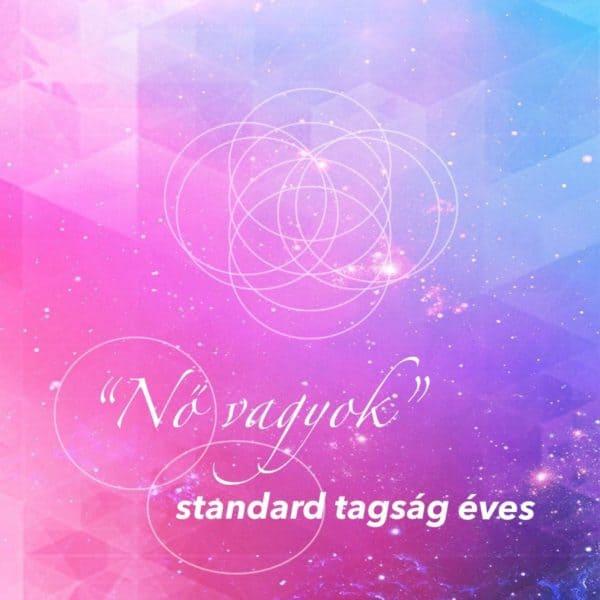 Nő vagyok standard tagság éves online jóga program FreshUp Ági vezetésével - Jóga Mindennap