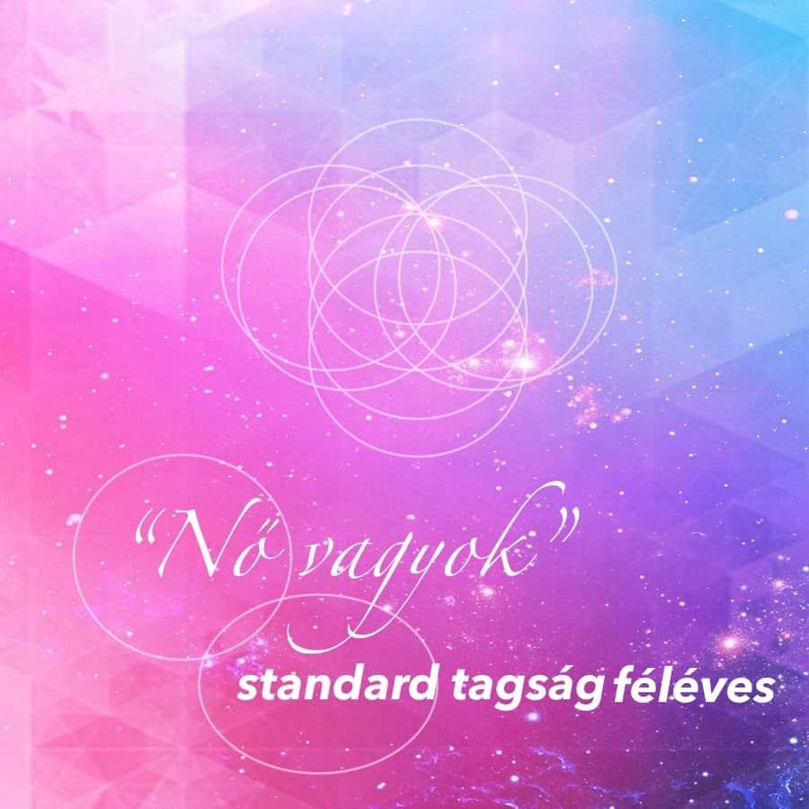 Nő vagyok standard tagság féléves online jóga program FreshUp Ági vezetésével - Jóga Mindennap